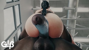 Busty gym chick railed hard - Med94