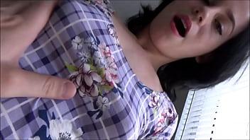 Sweet Teen Girlfriend Gets Home - Alex Adams