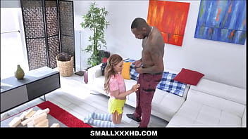 Cute y. Teen Big Black Cock Fuck During Jenga Game