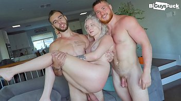 Travis Takes Big BBC Teen Channing While His Girl Watches