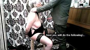 Mature Slave Training... Obedient mature girl fulfills her master's wishes...