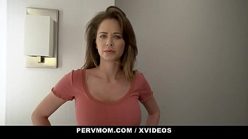 PervMom - Thick Curvy Stepmom (Emily Addison) Lets Her Stepson Cum In Her Mouth