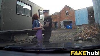Fake Cop Unfaithful girlfriend feels the