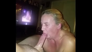 Wife lives on cum