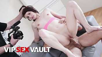 VIP SEX VAULT - #Amanda Hill - Sexy Tits Czech Babe Blows And Fucks On Her First Auditions