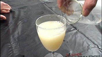 swallow Asian bukkake