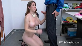 Rich Whore Fucks Cop To Get Away