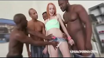 Black Busters, 5on1 Rebecca interracial BALL DEEP -DP -DAP -GAPES -5SWALLOW GIO221 - Legalporno