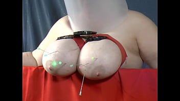 Watch Granny taking a bunch of darts in her massive tit (Sklavin/Slave/Esclave) preview