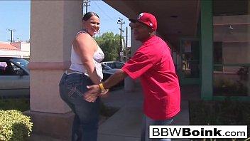 BBW Latina gets that big black cock
