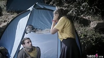Jewish teen camping cheats on boyfriend with an older man