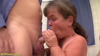 Watch big natural breast hairy bush midget granny enjoys her first threesome sex orgy preview