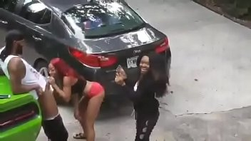 Ghetto hoes sucking cock