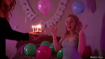 Surprise fuck for her 18th b-day