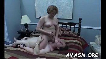 Dilettante femdom porn at home