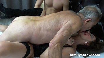 Crazy Family Threesome