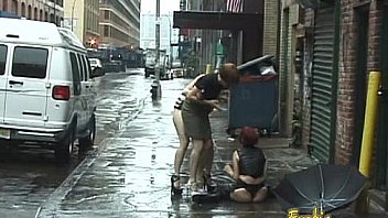 Bunch of kinky pornstars really enjoy filming a BDSM porno