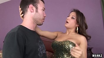 WANKZ- Busty Prostitute Charity Takes Big Cock