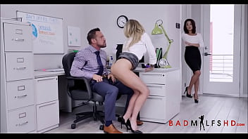 Sexy Blonde Big Tits MIILF Isabelle Deltore Teaching Young Employee Isabella Nice How To Get A Raise From Boss