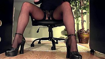 Watch Leggy secretary under desk panty masturbation preview