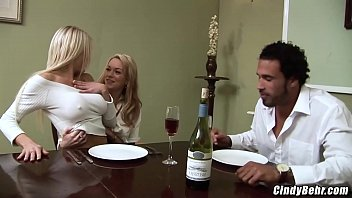 Paige Ashley and husband threesome with naughty maid