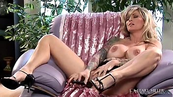 Smoking Hot Tattooed Cougar, Janine Lindemulder, aka (Janine James) Finger Fucks her majestic milf muff until she makes herself cum! Full Video at EarlMiller.com where Erotic Art Goes Hardcore!