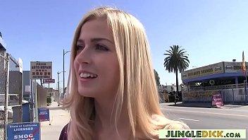 Euro Tourist Abigaile Johnson Gangbanged by BBCs