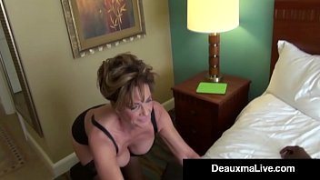 Big Breasted Deauxma has an office fling with her Black Boss who takes his BBC & shoves it between her Pantyhosed legs straight into her Willing Wet Pussy! Full Video & Live @DeauxmaLive.com!