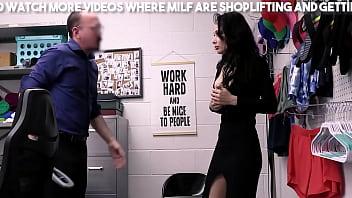 Brunette Milf Is A Shop Lifter