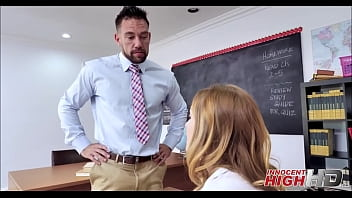 Cute Young High School Girl Karla Kush Has Anal Sex With Her Teacher After He Wants A Favor In Return Thumbnail