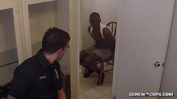 Blanc Flics Baise Ebony adolescente...