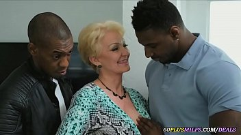 granny destroyed by two black guys