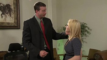 Boss fucks the big boobs assistant hard and rough in the office