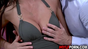 Alluring wife Tina Kay has been waiting for her hubbys call but he doesnt showed up. A stranger knock on the door and she fucks with him instead.