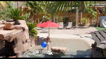 Watch Flexible_teen_rides_cock_in_pool preview