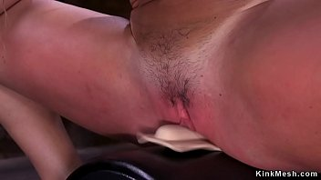 Stunning brunette solo Milf Richelle Ryan with monster tits rides Sybian then fucks different machines and vibrates clit till in bondage takes dildo Thumbnail
