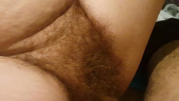 Small black cock and hairy pussy bitch