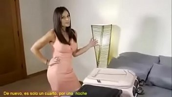 Mom finally gives in to horny step son (Subs in Spanish)