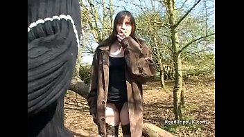 Using a real amateur teen on the roadtrip in Cambridgshire
