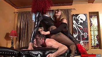 Ass Fucking Punishment FEMDOM STRAPON PEGGING PUSSY LICKING Thumbnail