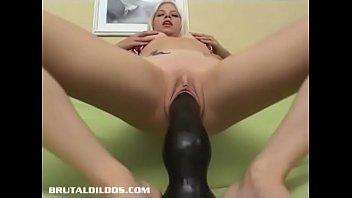 Jayda Diamonde fucking the m. of all b. dildos