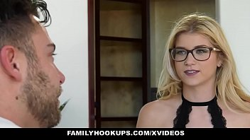 FamilyHookUps - Blonde Horny Step sis Analed by Stepbro Thumbnail