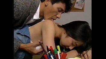 KUROSAWA AYUMI SEX WITH JAPANESE GUY IN USA SCHOOL FE-077