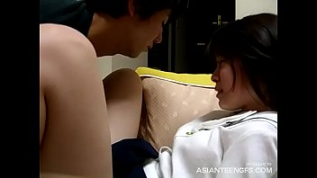 Stolen homemade sex tape with a CUTE ASIAN COLLEGE GIRL
