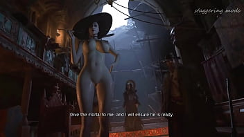 Lady Dimitrescu Nude Resident Evil Village