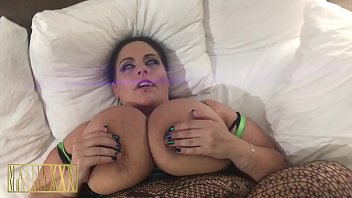 Milf Gets Her Huge Natural Tits Fucked and Pussy Pounded by Black Cock