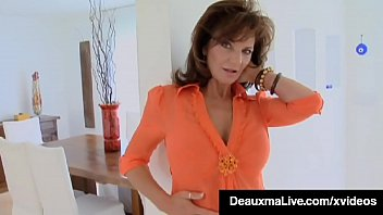 Dick Sucking Cougar Deauxma face fucks her boy toy, getting her mature muff & little bitty butthole pounded until she takes his warm load in her mouth! Full Video & Deauxma Live @ DeauxmaLive.com!