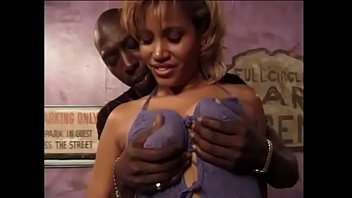 Busty whore with a big butt loves to ride a huge black cock