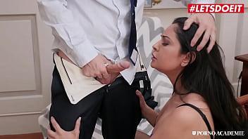 PORNO ACADEMIE - #Mariska - Sexy Ass MILF Tries Anal On Her Office With College Teacher