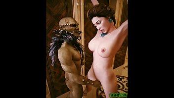 Incubus facial. Monster BDSM